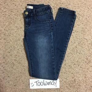 "Pacsun ""Bullhead Black"" Denim Legging Jean"